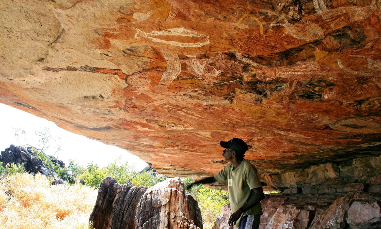 Injalak Hill in Arnhem Land is one of the richest Aboriginal art sites in the world