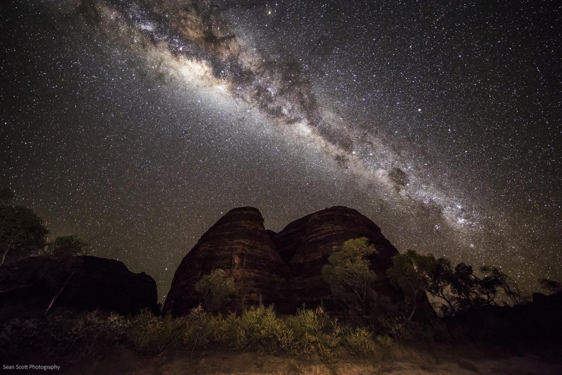 The Milky Way, The Kimberley