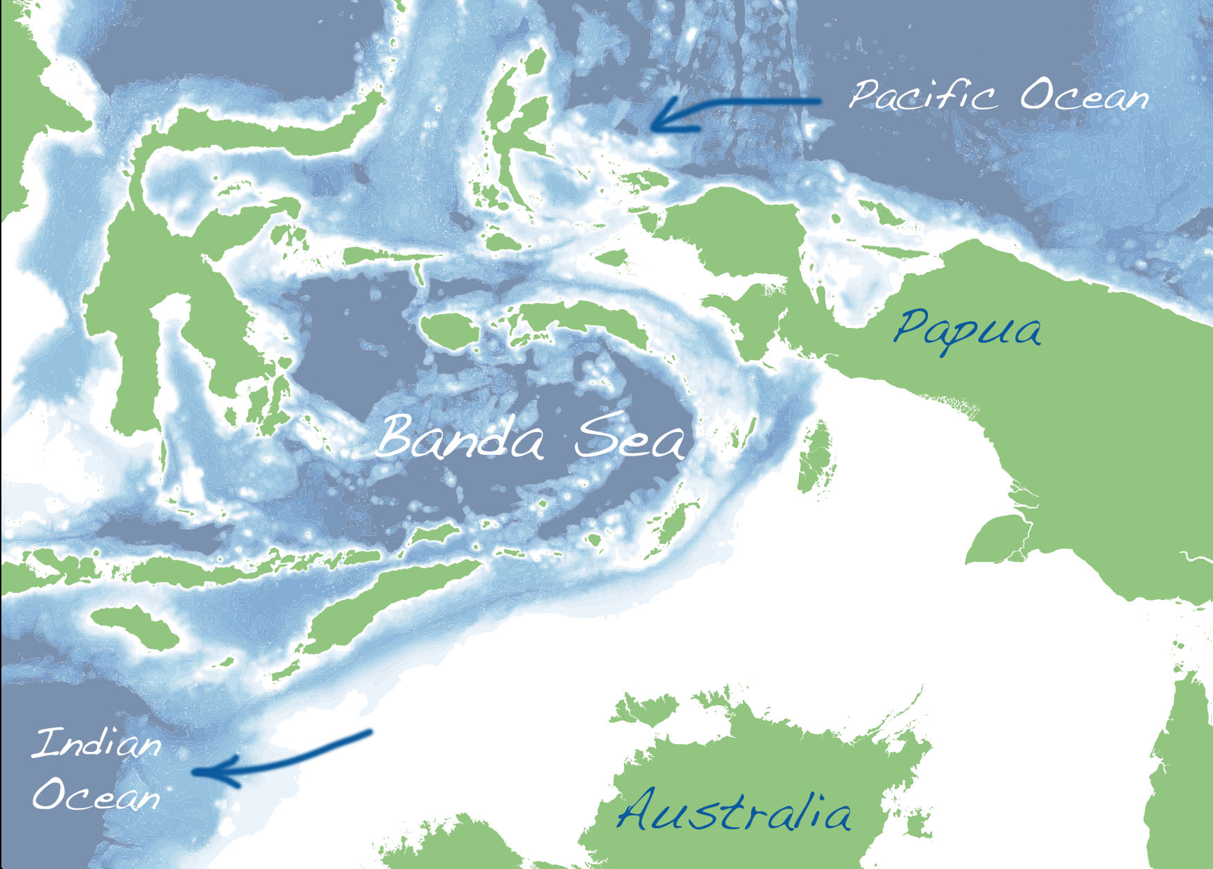 The Banda Sea