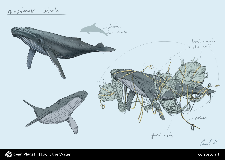 Humpback Whale Concept Art