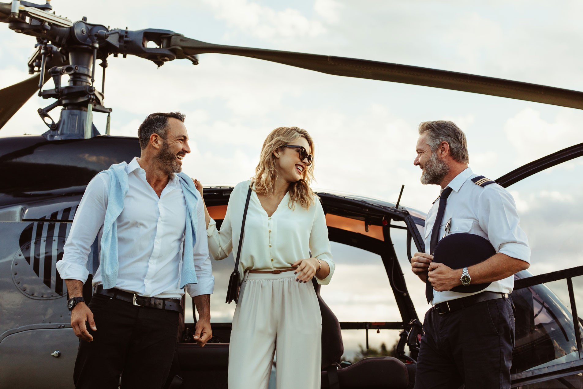 Private Luxury Travel Helicopter